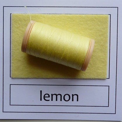 Sewing Thread :: Lemon