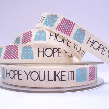 NEW Cotton Christmas Ribbon :: Hope you like it