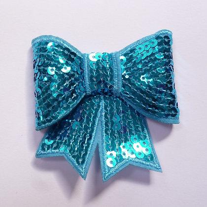 Sparkle Bow :: Large :: Blue