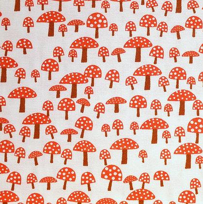 Fabric :: Wide :: Fly Agarric Mushrooms