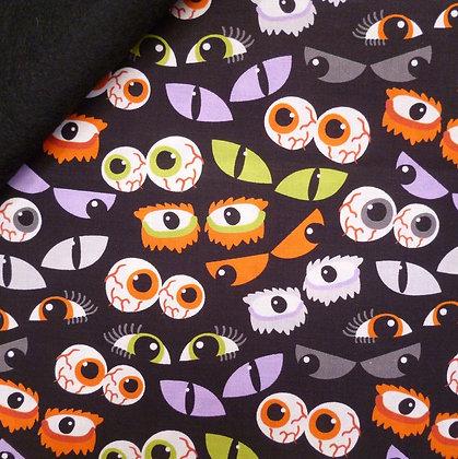 Fabric Felt :: Ma Boo Bash :: Eye See You on Black