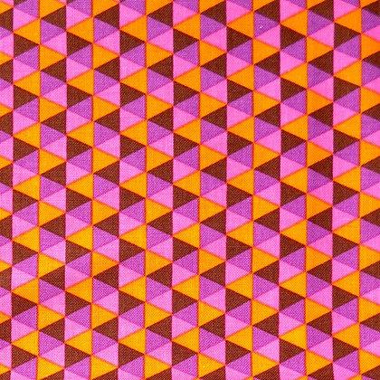Fabric :: Polygon  :: Cocoa