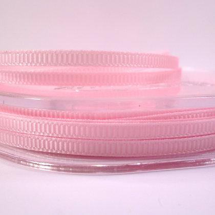 3mm Mini Grosgrain Ribbon (5 metres) :: Light Pink