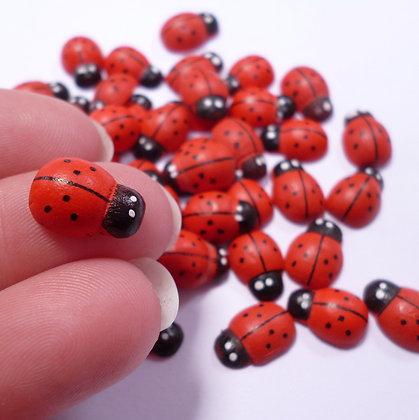 Wooden Mini Ladybirds