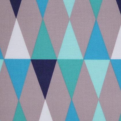Fabric :: Copenhagen :: The Harlequin (Blue)
