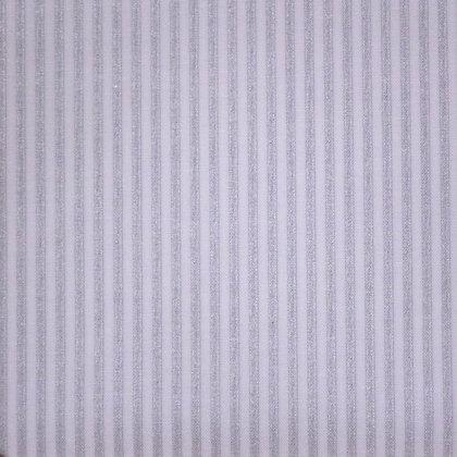 Fabric :: Metallic :: Silver Stripes