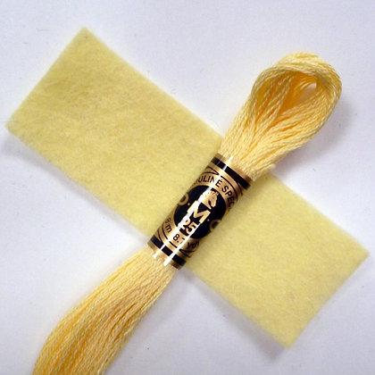 DMC Embroidery Thread :: Lemon (3078)