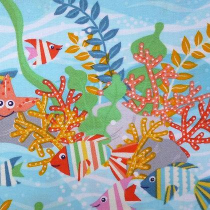 Fabric :: Sea Buddies :: Rock Pool