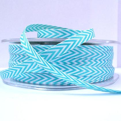 narrow twill ribbon :: turquoise