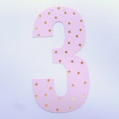 Make A Garland :: Number :: 3