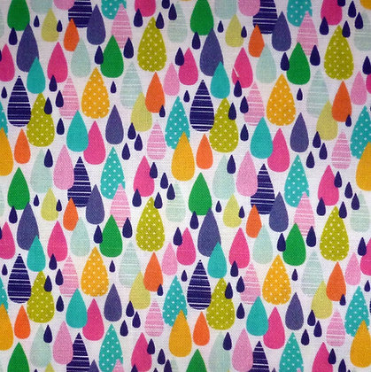 Fabric :: Chasing Rainbows :: Raindrops of Colour