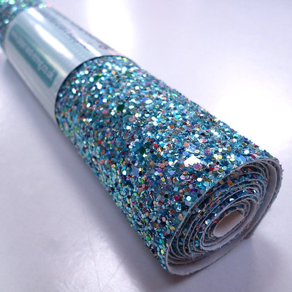 Chunky Glitter roll :: Mixed :: Rock Pool
