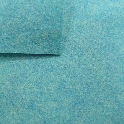 Spearmint - Heathered Felt - cut from the roll