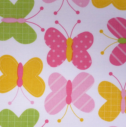 Fabric :: Zoologie :: Spring Butterflies