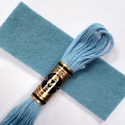 DMC Embroidery Thread :: Sky Blue (519)