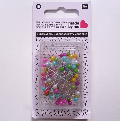 Rico Glass Headed Pins :: Large
