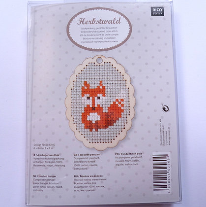 Embroidery Kit :: Fox