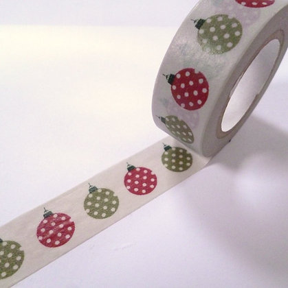 Washi Tape roll :: Baubles