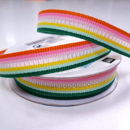 Magical Spools :: Woven Iridescent Stripe