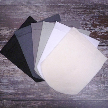 Pick Your Own Felt Flag - Curved or Pointed - Blacks
