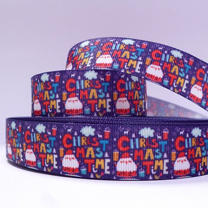 Christmas Grosgrain Ribbon :: It's Christmas Time