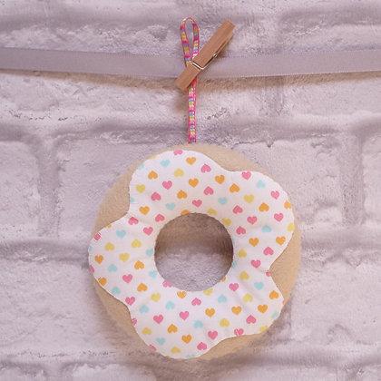 Handmade :: Doughnut :: Fabric Heart Sprinkles