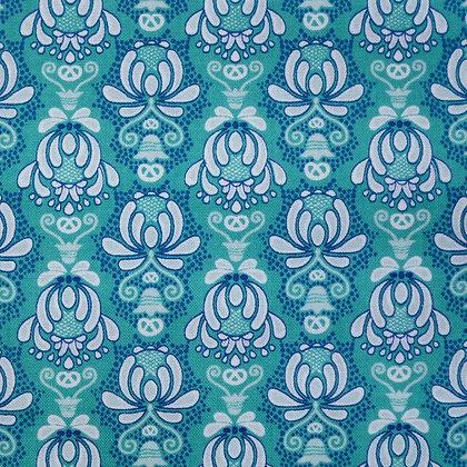 Fabric :: Vienna :: Teal Flourishes