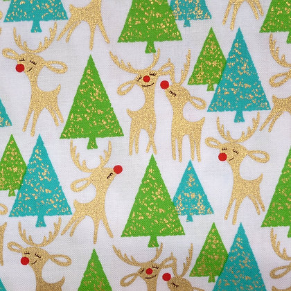 FQ SALE Fabric :: Holiday Deeries :: Deeries FAT QUARTER