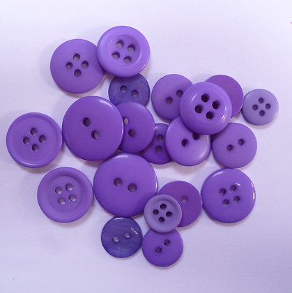 Dyed Pick & Mix Buttons :: Purple