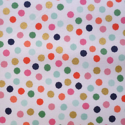 Fabric :: On Trend :: White + Dots