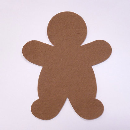 Die Cut :: Gingerbread Man :: Teddy Bear