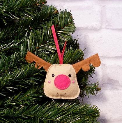 Reindeer (Bright) Christmas Decoration Kit