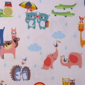 Fabric :: Noah's Ark :: Two by Two
