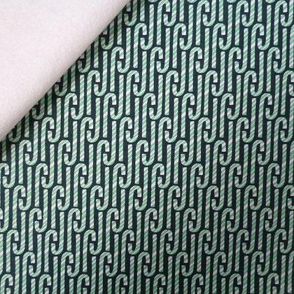 Fabric Felt :: Celebration :: Green Candy Cane on White