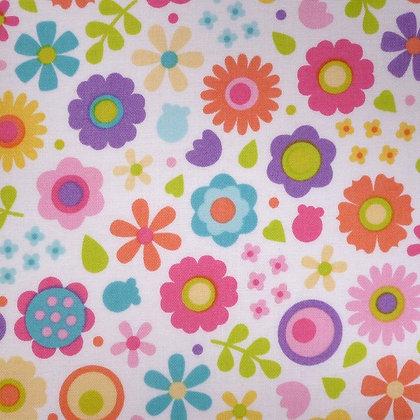 Fabric :: Under The Sea :: Seaside Flowers