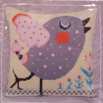 Printed Canvas Cushion Kit :: Twitter