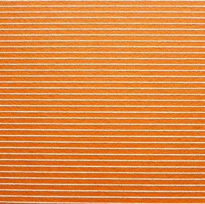 Stripe Felt Square :: ORANGE