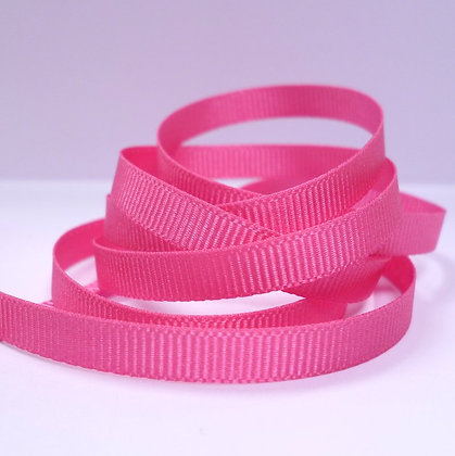 6mm Grosgrain Ribbon :: Bright Pink (9280)