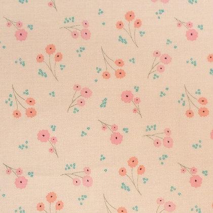 Fabric :: Ava Rose :: Small Cream Posy