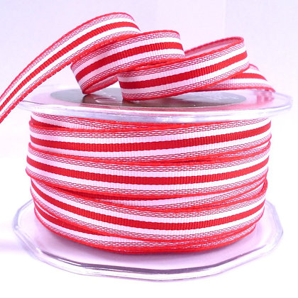 "3/8"" Stripe Ribbon :: Red"