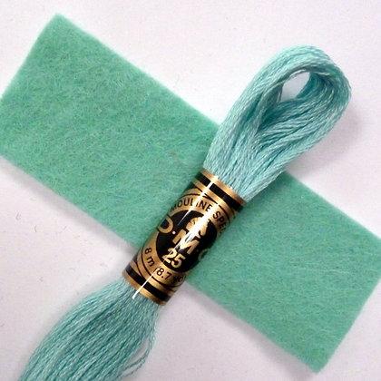 DMC Embroidery Thread :: Sea Green (964)
