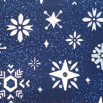Fabric :: Way Up North :: Snowflakes :: Navy