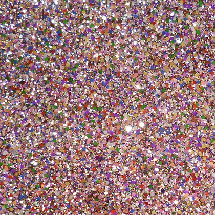 Chunky Glitter sheet :: Rainbow