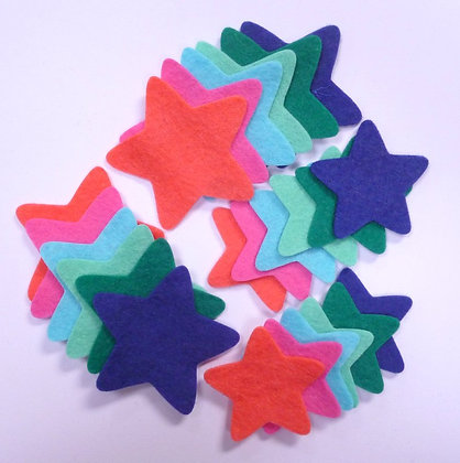 Die Cut Pack :: Stars :: Tropical