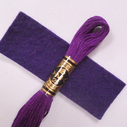 DMC Embroidery Thread :: Plum (550)