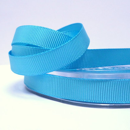 10mm grosgrain :: by the metre :: Turquoise
