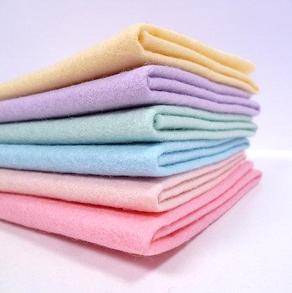 Premium Wool Felt Colour Pack :: Candy Pastel