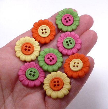 Fantastic Button Packs :: Beach Blooms