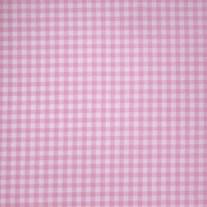 Fabric :: Wide Gingham :: Pale Pink