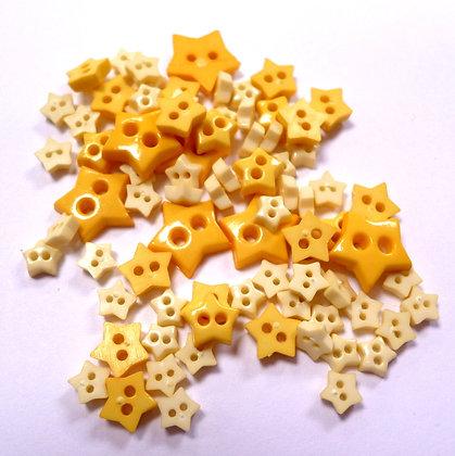 Pack of Tiny Stars :: Yellow